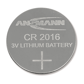 BUTTON CELL CR2016 3V